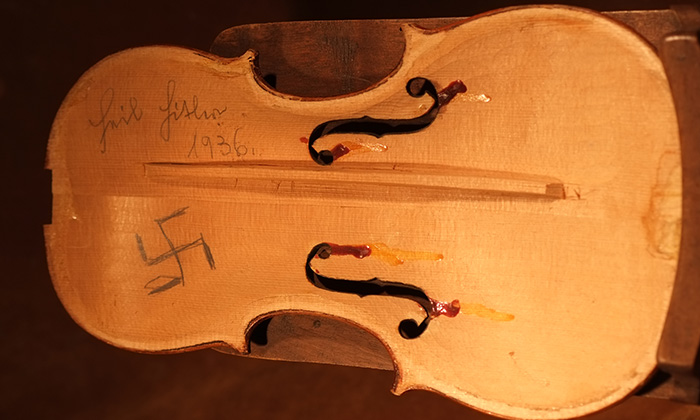 Photo from THE VIOLINS OF HOPE
