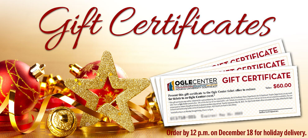 Gift certificate page banner image