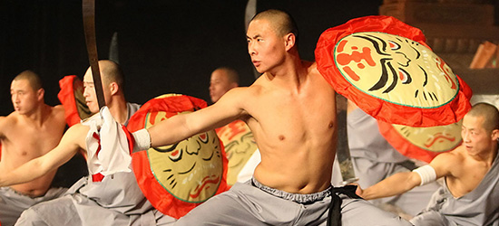 Martial Artists and Acrobats of Tianjin photo